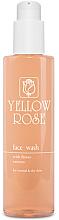Parfums et Produits cosmétiques Gel nettoyant à l'extrait de fleurs pour visage - Yellow Rose Face Wash With Flower Extracts