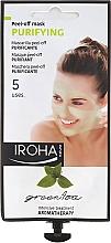 Parfums et Produits cosmétiques Masque peel-off au thé vert pour visage - Iroha Nature Green Tea Purifying Peel-Off Mask