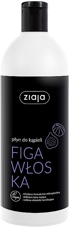 Mousse de bain Figue italienne - Ziaja Bath Foam