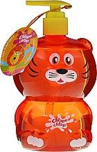 Parfums et Produits cosmétiques Gel de douche et bain avec sucette au raisin pour enfants, Tiger - Chlapu Chlap Bath & Shower Gel