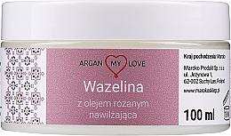 Parfums et Produits cosmétiques Vaseline à l'huile de rose pour visage et corps - Argan My Love