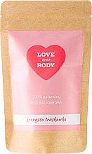Parfums et Produits cosmétiques Gommage corporel au café 100% naturel parfumé à la fraise - Love Your Body Peeling