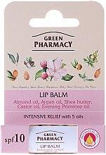 Parfums et Produits cosmétiques Baume à lèvres aux huiles naturelles - Green Pharmacy Lip Balm With 5 Oils, SPF 10