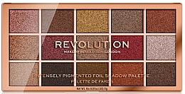 Parfums et Produits cosmétiques Palette d'ombres à paupières - Makeup Revolution Foil Frenzy Eye Shadow Palette