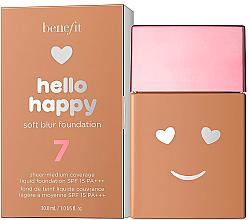Parfums et Produits cosmétiques Fond de teint liquide - Benefit Hello Happy Soft Blur Foundation