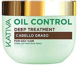 Parfums et Produits cosmétiques Masque pour les cheveux gras - Kativa Oil Control Deep Treatment