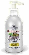 Parfums et Produits cosmétiques Savon liquide de Marseille à la fleur de citronnier - Ma Provence Liquid Marseille Soap Lemon