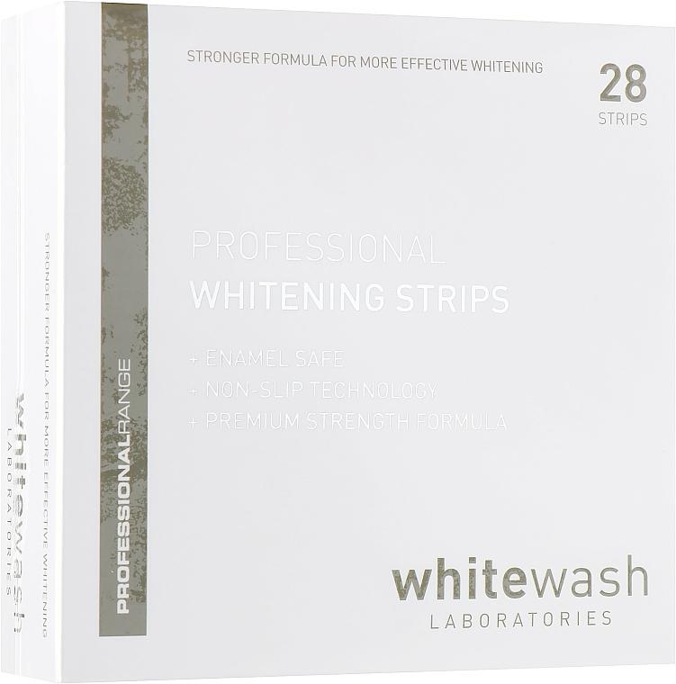 Bandes professionnelles blanchissantes pour dents - WhiteWash Laboratories Professional Whitening Strips