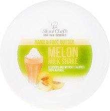 Parfums et Produits cosmétiques Crème mains et pieds, Cocktail de melon - Stani Chef's Hand And Foot Butter Melon Milk Shake