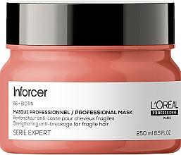 Parfums et Produits cosmétiques Masque anti-casse à la biotine et vitamine B6 pour cheveux - L'Oreal Professionnel Inforcer Strengthening Anti-Breakage Masque