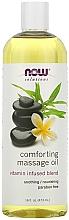 Parfums et Produits cosmétiques Huile de massage apaisante - Now Foods Solutions Comforting Massage Oil