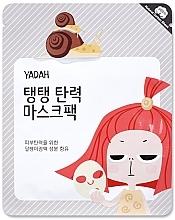 Parfums et Produits cosmétiques Masque tissu à la bave d'escargot et collagène pour visage - Yadah Collagen Mask Pack