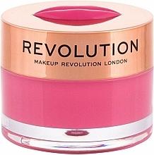 Parfums et Produits cosmétiques Baume-masque à lèvres, Pastèque - Makeup Revolution Kiss Lip Balm Watermelon Heaven