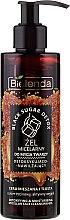 Parfums et Produits cosmétiques Gel micellaire nettoyant pour visage - Bielenda Black Sugar Detox Micellar Face Cleansing Gel