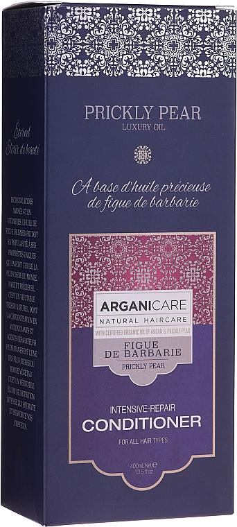 Après-shampooing à l'huile d'argan bio - Arganicare Prickly Pear Intensive-Repair Conditioner