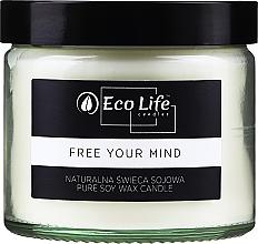 Parfums et Produits cosmétiques Bougie parfumée, rose rouge - Eco Life Candles