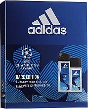 Parfums et Produits cosmétiques Adidas UEFA Dare Edition - Set (gel douche/250ml + déodorant/75ml)