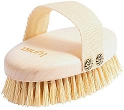Parfums et Produits cosmétiques Brosse en bois pour massage humide ou sec - Lynia