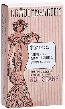 Poudre de henné très rouge - Styx Naturcosmetic Henna Rot Stark