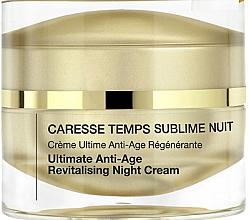 Parfums et Produits cosmétiques Crème de nuit à l'extrait de pomme - Qiriness Caresse Temps Sublim Nuit