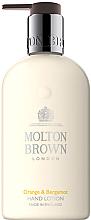 Parfums et Produits cosmétiques Lotion à l'orange et bergamote pour mains - Molton Brown Orange & Bergamot Hand Lotion