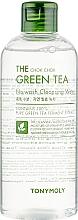 Parfums et Produits cosmétiques Eau nettoynate au thé vert pour visage - Tony Moly The Chok Chok Green Tea No-Wash Cleansing Water