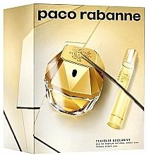Parfums et Produits cosmétiques Paco Rabanne Lady Million Traveler Exclusive - Coffret (eau de parfum/80ml + eau de parfum/20ml)