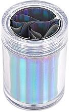 Parfums et Produits cosmétiques Feuille holographique pour nail art - Peggy Sage Transfer Foil For Nails