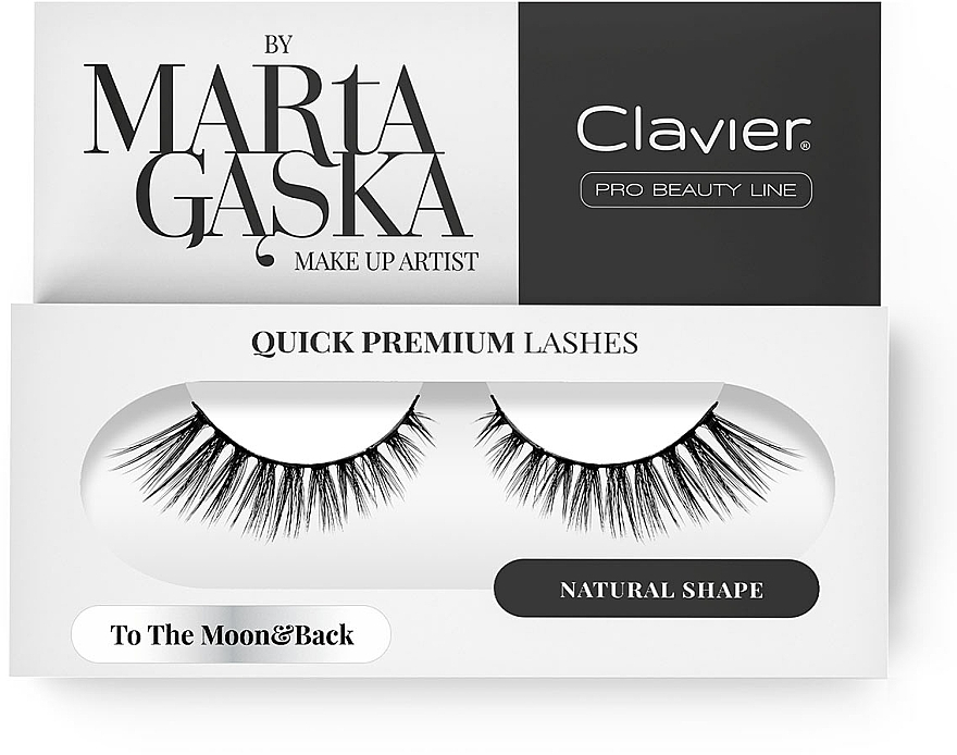 Faux cils - Clavier Quick Premium Lashes To The Moon&Back 801
