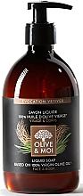Parfums et Produits cosmétiques Savon liquide à l'huile d'olive pour visage et corps, Vétiver - Saryane Olive & Moi Liquid Soap
