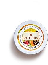 Parfums et Produits cosmétiques Gommage naturel à la papaye et au ginseng indien pour visage - Orientana Natural Cream Face Scrub Papaya