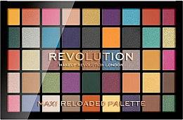 Parfums et Produits cosmétiques Palette de fards à paupières, 45 couleurs - Makeup Revolution Maxi Reloaded Palette