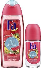 Fa Fiji Dream Set - Set (gel douche/250ml + déodorant roll-on/50ml) — Photo N2