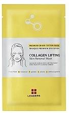Parfums et Produits cosmétiques Masque tissu au collagène pour visage - Leaders Collagen Lifting Skin Renewal Mask