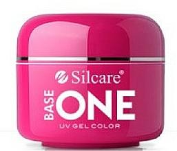 Parfums et Produits cosmétiques Gel pour ongles, transparent avec micro-paillettes - Silcare Base One Galaxy