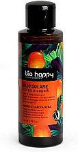 Parfums et Produits cosmétiques Huile de bronzage à l'extrait de carotte noire pour corps et cheveux, Mangue et Carotte noir - Bio Happy Hair & Body Tanning Oil Mango And Black Carrot