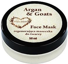 Parfums et Produits cosmétiques Masque à l'huile d'argan et lait de chèvre pour visage - The Secret Soap Store Argan & Goats Face Mask