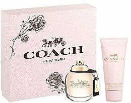 Parfums et Produits cosmétiques Coach New York Eau De Parfum - Coffret (eau de parfum/50ml + lait parfumée/100ml)