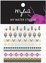 Parfums et Produits cosmétiques Autocollants pour ongles - MylaQ My Aztek Sticker