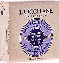 Savon au beurre de karité et lavande - L'occitane Shea Butter Extra Gentle Soap-Lavender — Photo N1