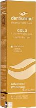 Parfums et Produits cosmétiques Dentifrice blanchissant - Dentissimo Advanced Whitening Gold Toothpaste
