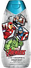 Parfums et Produits cosmétiques Shampooing et après-shampooing 2-en-1 - Corsair Marvel Avengers 2 in 1 Shampoo&Conditioner