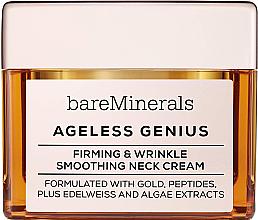 Parfums et Produits cosmétiques Crème cou raffermissante et lissante - Bare Escentuals Bare Minerals Moisturizer Ageless Genius Firming & Wrinkle Smoothing Neck Cream