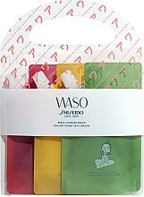 Parfums et Produits cosmétiques Coffret cadeau - Shiseido Waso Reset Cleanser (clansing/gel/3x70ml)