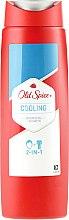 Parfums et Produits cosmétiques Gel douche 2 en 1 - Old Spice Hair&Body Cooling