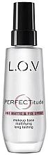 Parfums et Produits cosmétiques Spray pour visage - L.O.V PERFECTitude 3in1 Matte & Fix Spray