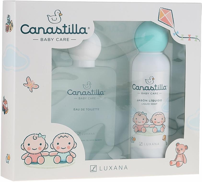 Luxana Canastilla - Set (eau de toilette/100ml + savon liquide/150ml)