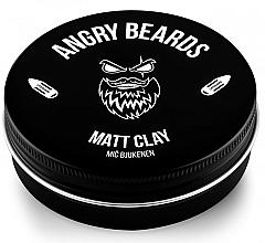 Parfums et Produits cosmétiques Argile coiffante - Angry Beards Mic Bjukenen Matt Clay