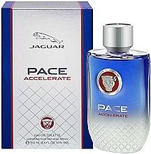 Parfums et Produits cosmétiques Jaguar Pace Accelerate - Eau de Toilette