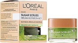 Parfums et Produits cosmétiques Gommage au sucre et kiwi pour visage et lèvres - L'Oreal Paris Sugar Scrubs